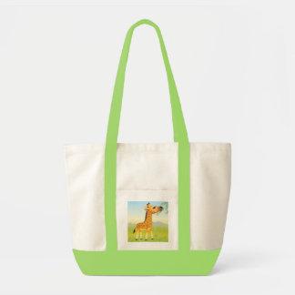 Baby Giraffe Tote Impulse Tote Bag