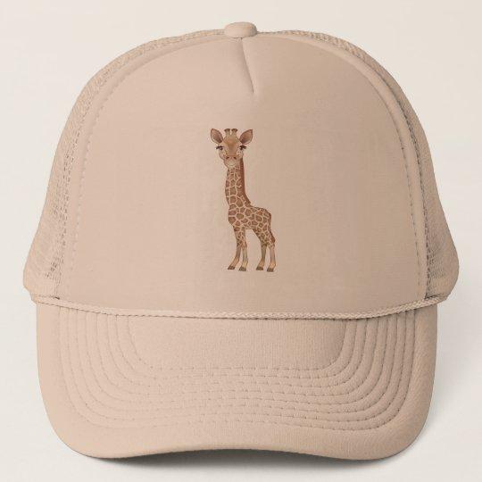 Baby Giraffe Trucker Hat