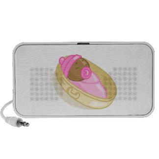 Baby girl 1 portable speaker