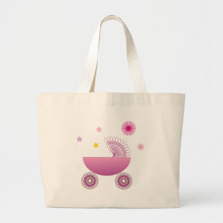 Baby Girl A1 Jumbo Tote Bag