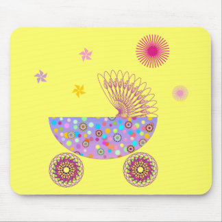 Baby Girl A2 Mouse Pad