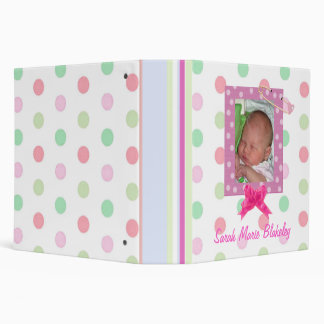 Baby Girl Album Binder
