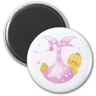 Baby Girl Arrival Magnet