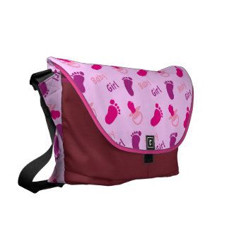 Baby Girl - Baby Shower Courier Bag