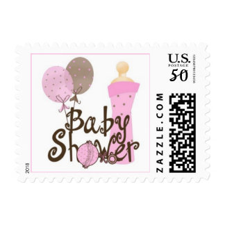 Baby Girl Baby Shower Postage