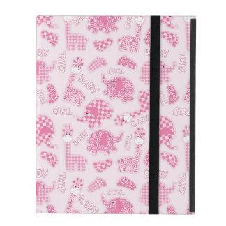 baby girl background iPad folio case