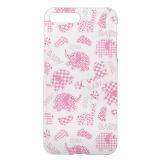 baby girl background iPhone 7 plus case