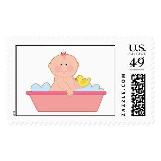 Baby Girl Bath Postage