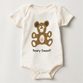 baby girl bear, Beary Sweet! Baby Bodysuit