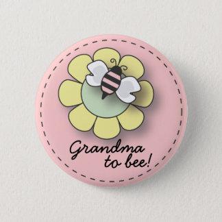 "Baby Girl Bee in Pink Grandma To ""Bee"" Pin"