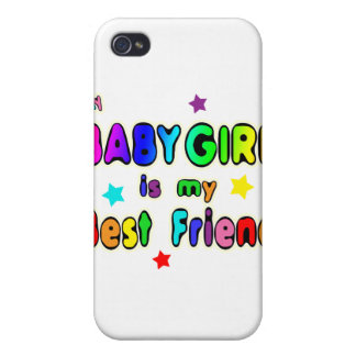 Baby Girl Best Friend Case For iPhone 4