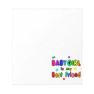 Baby Girl Best Friend Notepad