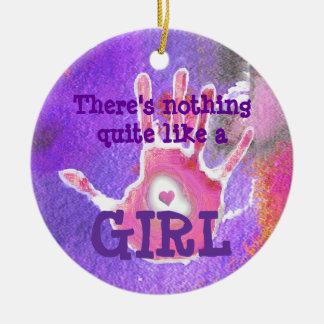 Baby Girl - Big Girl - Ornament