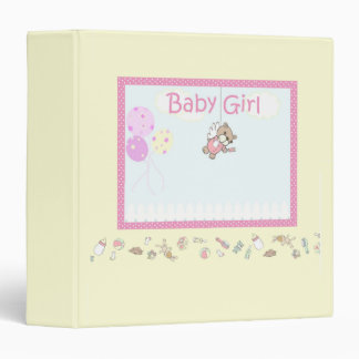 Baby Girl Binder
