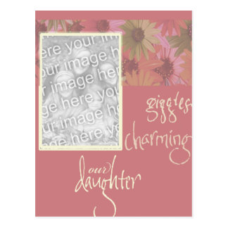 Baby Girl Birth Announcements Postcard