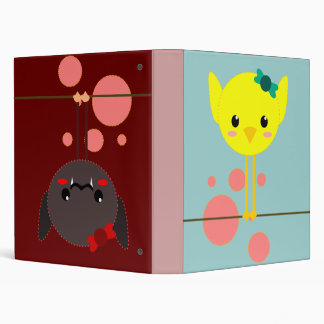 baby girl book chick 3 ring binder