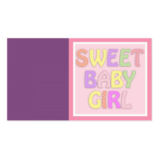 Baby Girl Business Card