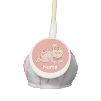 Baby Girl Cake Pops