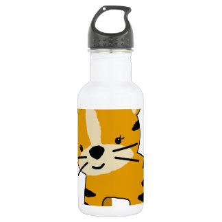 Baby Girl Cartoon Tiger 18oz Water Bottle