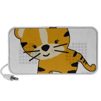 Baby Girl Cartoon Tiger Portable Speakers