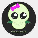 Baby Girl Cthulhu Sticker