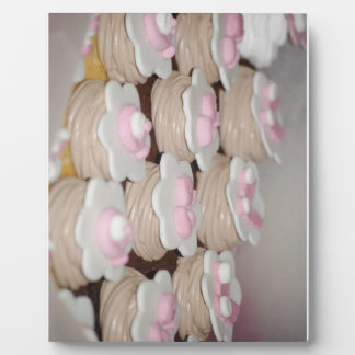 baby girl cupcakes plaque