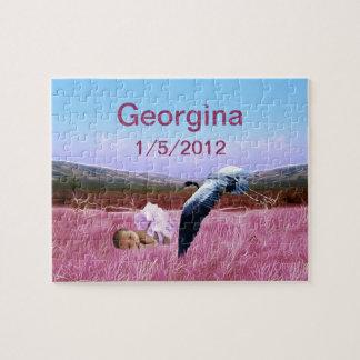 Baby girl decor jigsaw puzzle