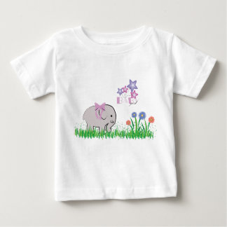 Baby girl design with elephant baby T-Shirt