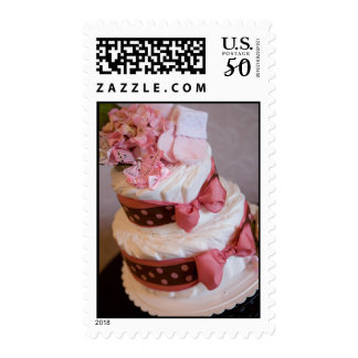 Baby Girl Diaper Cake Postage