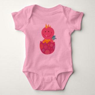 Baby Girl Dragon infant Tee Shirt