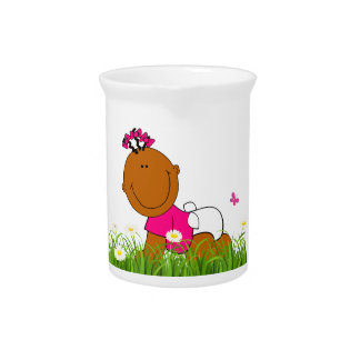 Baby Girl Drink Pitcher