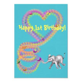 Baby Girl Elephant by The Happy Juul Company Card