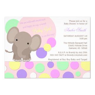 800 girl elephant baby shower invitations girl elephant baby shower