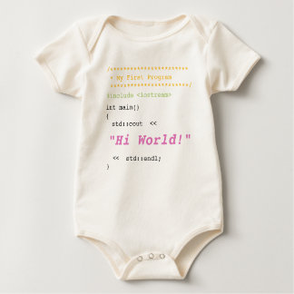Baby Girl First C   Program Baby Bodysuit