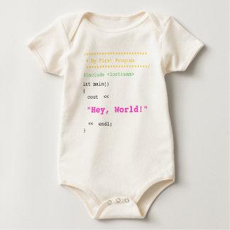 Baby Girl First C++ Program Bodysuit