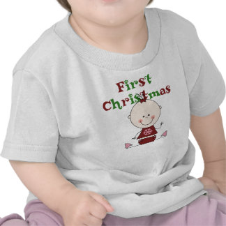 Baby Girl First Christmas T-shirts and Gifts