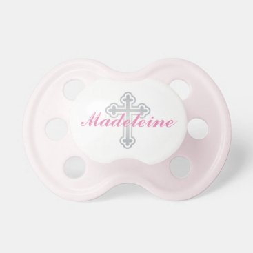 Toddler & Baby themed Baby Girl First Name | Silver Cross Pacifier
