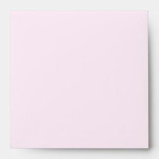 Baby Girl & Glittery Strawberry Pink Baby Shower Envelope