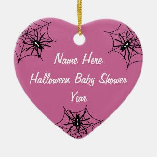Baby Girl Halloween Baby Shower Ornaments
