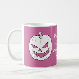 Baby Girl Halloween Pumpkin Baby Shower Mugs