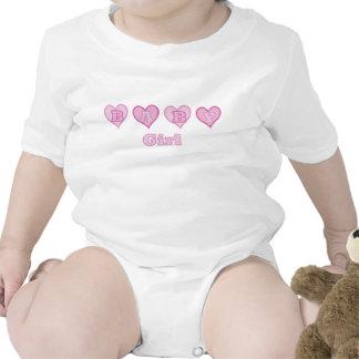 Baby Girl Hearts Shirt