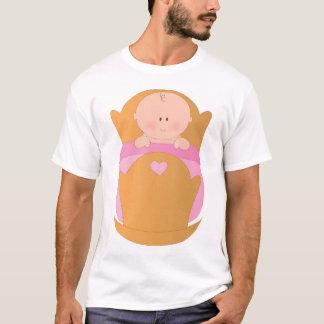 Baby Girl in Cradle T-Shirt