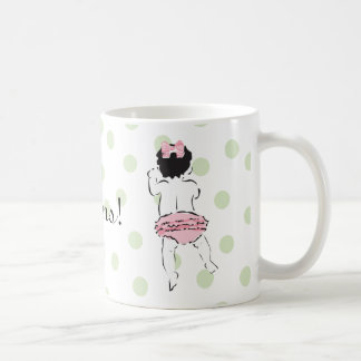 Baby Girl in Ruffled Panties Mug