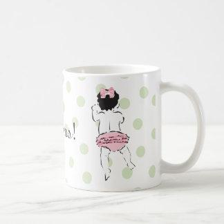 Baby Girl in Ruffled Panties Mug
