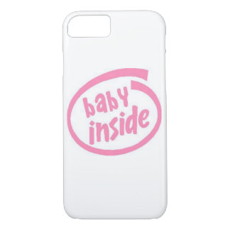 Baby Girl Inside iPhone 7 Case