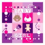 Baby Girl Invite