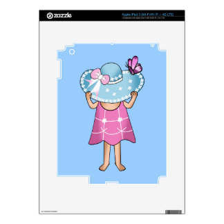 Baby Girl iPad 3 Skin