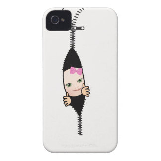 baby girl iPhone 4 cover
