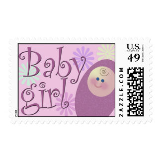 Baby girl is here~ stamp
