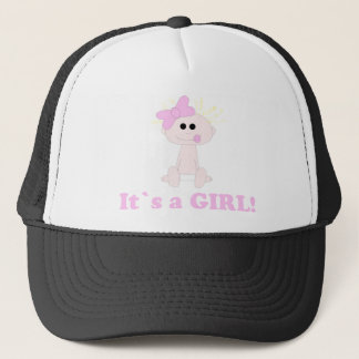 Baby Girl It's A Girl Hat